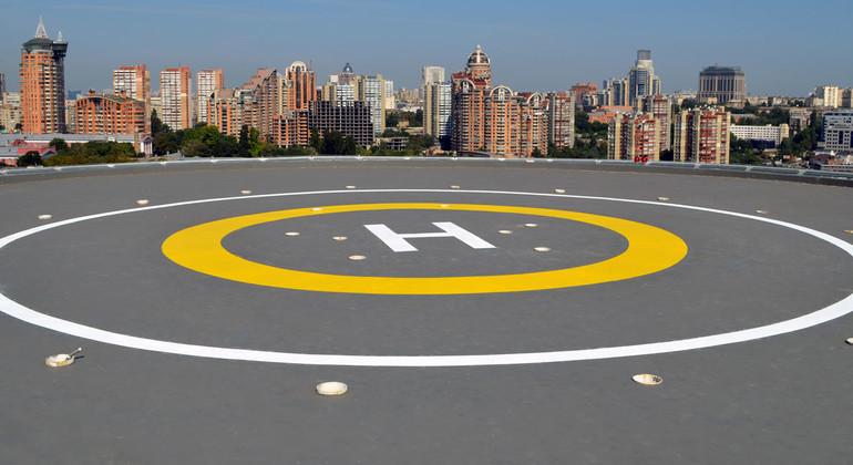 Покрытия пола для вертолетных площадок Deckshield Rapide ID