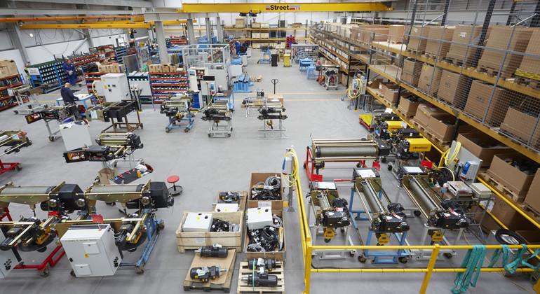Підлоги для підприємств машинобудування