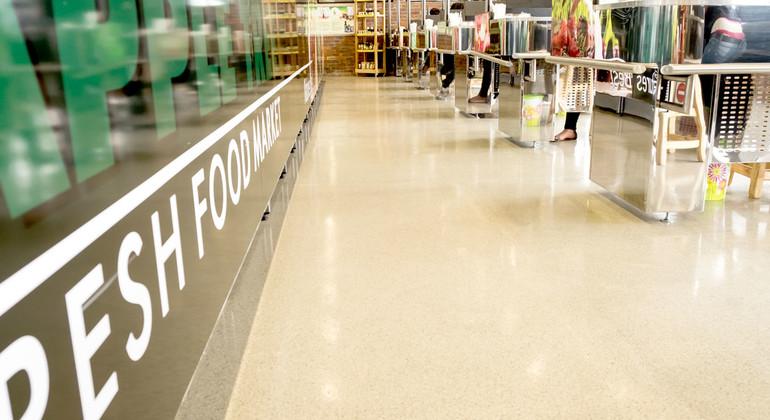 Покрытия для торговых помещений Flowfast Terrosso