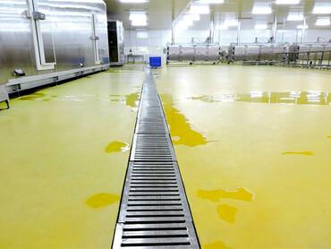 Антибактериальный пол для предприятий по производству пищевых продуктов и напитков