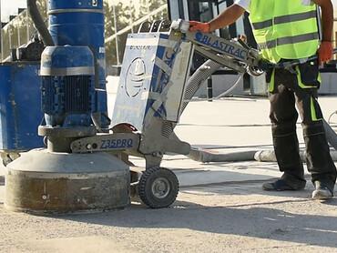 Підготовка бетонної основи підлоги