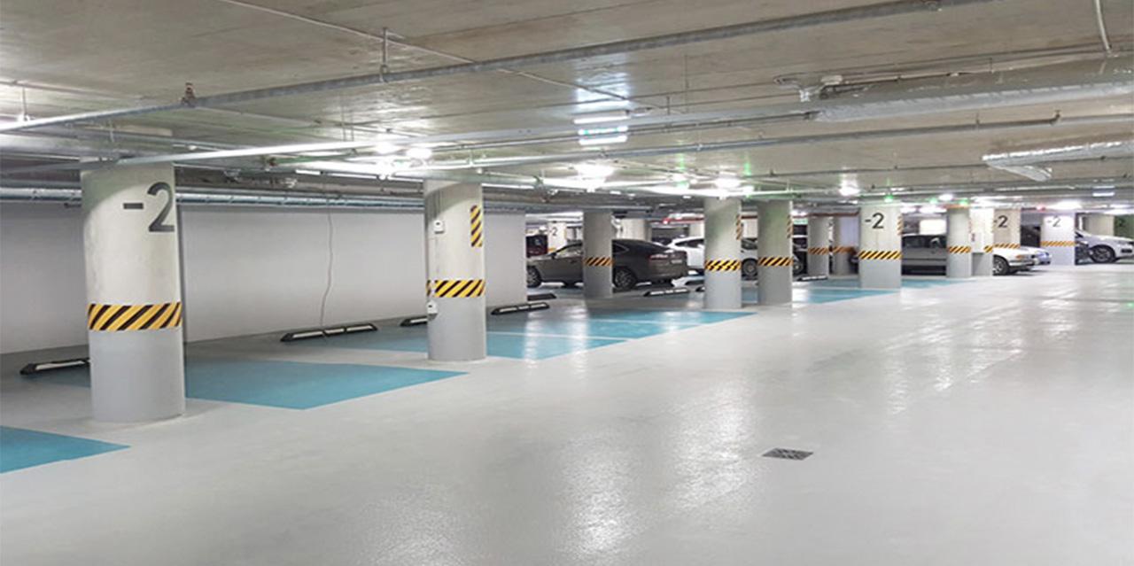 Подземный паркинг «Quadrum Business City» - фото № 2