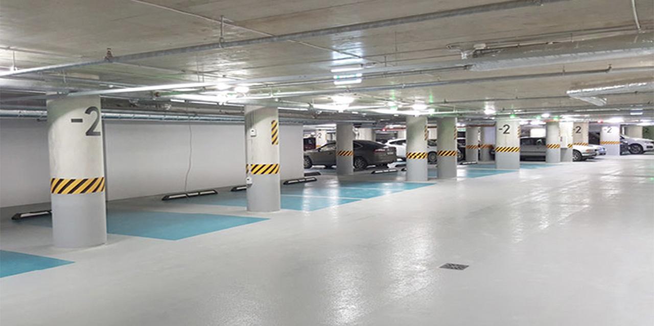 Подземный паркинг «Quadrum Business City» - фото № 3