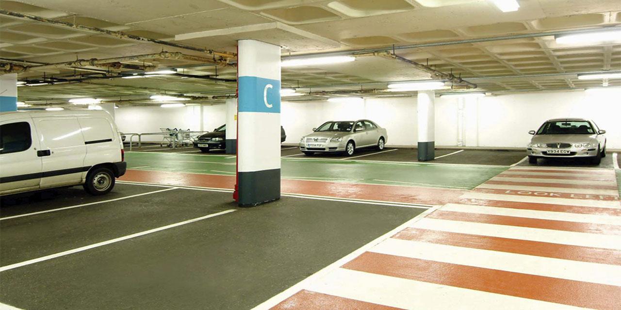 Паркинг в ТЦ «Weston Favell Mall» - фото № 2