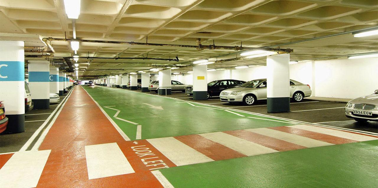 Паркинг в ТЦ «Weston Favell Mall» - фото № 3