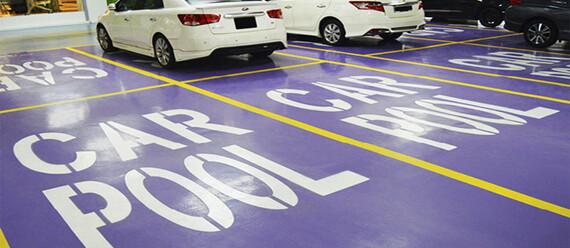 Паркинг в ТЦ «KL Gateway Mall»