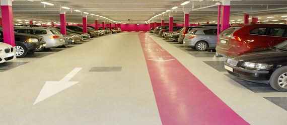 Паркинг в ТЦ «Mall of Scandinavia» - фото №4 - фото № 4