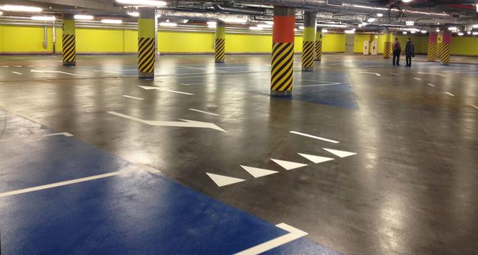 ТРЦ Порт City:  Площадь: 10000 м2 покрытие Deckshield ID