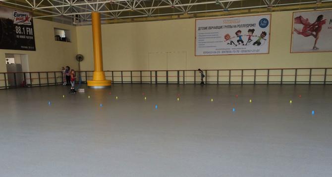 Ролледром:  Площадь: 700 м2 покрытие Peran STB