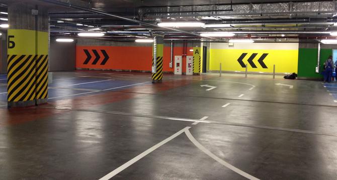 ТРЦ Порт City:  Площа: 10000 м2 покриття Deckshield ID