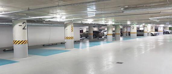 Подземный паркинг «Quadrum Business City» - фото №2 - фото № 2