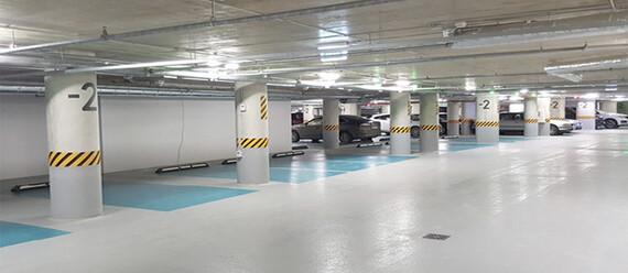 Подземный паркинг «Quadrum Business City» - фото №3 - фото № 3