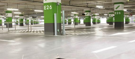 Паркинг в ТЦ «Posnania» - фото №3 - фото № 3