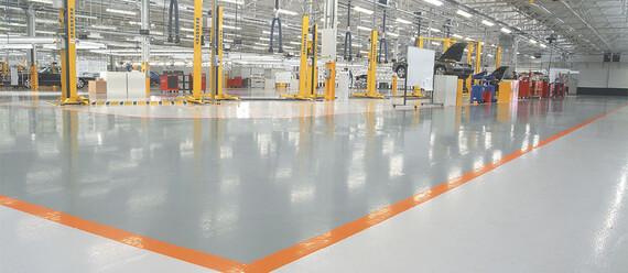 Производственный завод автомобилей «Bentley Motors»