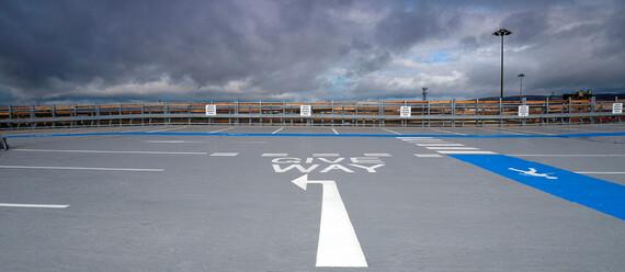Паркинг госпиталя Университета Королевы Елизаветы - фото №2 - фото № 2