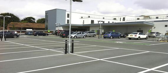 Открытая автостоянка «Waitrose» - фото №4 - фото № 4