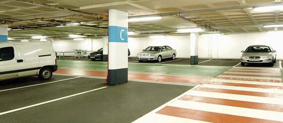 Паркинг в ТЦ «Weston Favell Mall» - фото №2 - фото № 2