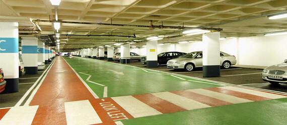 Паркинг в ТЦ «Weston Favell Mall» - фото №3 - фото № 3