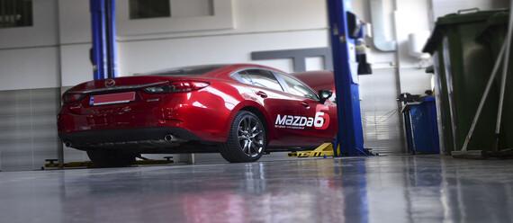 Реконструкція підлоги в СТО «Mazda» - фото №3 - фото № 3